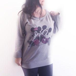 H&M Disney Mickey & Minnie Sweatshirt